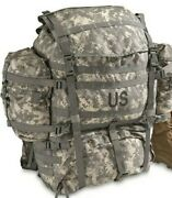 Molle Ii Acu Large Rucksack Field Pack Complete Frame Waist Shoulder 2 Pouches