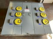 Square D Meter-pak Meter Center 6 Gang 800 Amp Bus 120/240vac 1 Phase 3-wire
