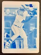 2020 Bowman Heritage Daz Cameron Cyan Printing Plate Sp 1/1 One Of One