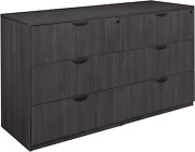 Regency Legacy Stand Side Storage Set With Two Lateral File Cabinets, 72 X 23,