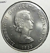 Great Britain Commemorative Crown Coin The Death Of Sir Winston Churchill 1965