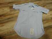 Us Military Air Force Dress Shirt Size 15 New With Defect