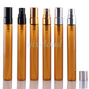 Refillable Empty Glass Fine Mist Spray Bottle Cosmetic Container