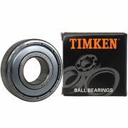 Timken 6203-2z 2 Pcs Double Metal Seal Bearings 17x40x12mm, Pre-lubricated And