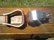 3 Stainless Monel Bell Ranch Roping Saddle Stirrups
