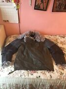 Iconic Rare Balenciaga Leather And Shearling Jacket Ghesquiere- Fits Uk 12