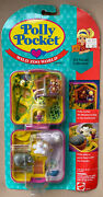 Vintage 1989 Polly Pocket Wild Zoo World Pink Compact New And Sealed