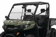 Versa Fold Windshield For Can-am Defender Hd10 Dps 2016-2019 Polycarbonate