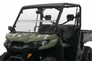 Versa Fold Windshield For Can-am Defender Max Hd8 Dps 2017-2019 Polycarbonate