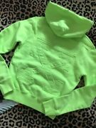 Mega Cooler Off-white Hoodie In Neon/ Lime Green Neu Mit Etikett Sold Out Xxs