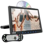 Pyle Plhrdvd904 9.4 Lcd Universal Headrest Monitor With Dvd/cd Player And Ir And F