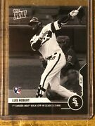 2020 Topps Now 177bw-a Luis Robert Rc Chicago White Sox 1/1