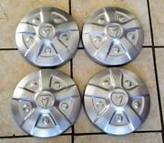 1970s Toyota Pickup Truck Sr5 Dog Dish Hub Cap Hilux Mini Truck Oem Painted Set
