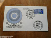 Germany Federal Rfa 1987 Fdc Craft Professions Plumber Jobs Stamp 1147