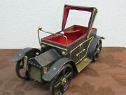 Vtg. 1900s Lala's Theme Uscc Wind Up Car As Is Missing Wind Up Parts  Mh