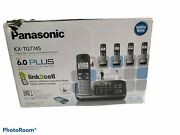 Panasonic Kx-tg7745 Link2cell Bluetooth Cellular Convergence Solution With 5...