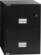 Phoenix Vertical 25 Inch 2-drawer Legal Fireproof File Cabinet With Water Seal