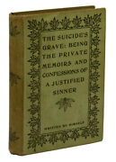 Private Memoirs And Confessions Of A Justified Sinner James Hogg First Thus 1895