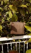 Antique Victorian Sterling Silver Chain Purse Marking Vw Clutch Bag
