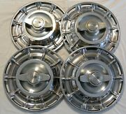 Vintage Original Chevrolet Corvette Hubcaps Wheel Covers 1959-1962