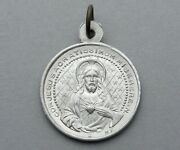 Saint Virgin Mary And Jesus. Sacred Heart. Antique Religious Pendant. French Medal