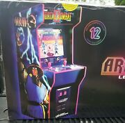 2 Player Midway - Mortal Kombat Legacy Edition Arcade1up Warranty 12 Games In 1