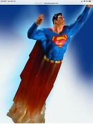 Dc Dynamics Superman Statue Not Xm Or Prime 1 Extremely Rare Very Hard To Find