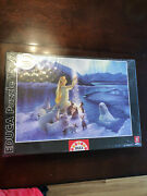Educa 1500 Piece Puzzle New Sealed Angel In Arctic With Seal Polar Bears Whale