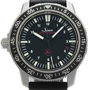Sinn 603 Ezm3 Diver Automatic Black Dial Menand039s Watch From Japan Pre Owned U0411