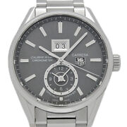 Tag Heuer Carrera Cal.8 Gmt War5012 Automatic Gray Dial Menand039s Watch [u0411]