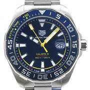 Tag Heuer Aquaracer Caliber 5 Way201h Automatic Menand039s Watch Pre Owned [u0411]
