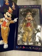 Mickey Mouse Action Figure 30th Anniversary Gold Costume Medicom Toy Disney
