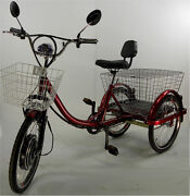 Power Electric Three Wheels Tricycle Motorized Trike Cheap Price