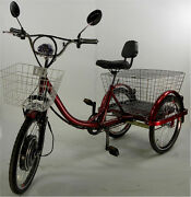 Power Electric Three Wheels Tricycle Motorized Trikes For Seniors