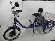 Motorized Electric Three Wheels Tricycle Adult Scooter Motorized Trike