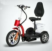 3 Wheels Adult Electric Mobility Scooter Electric Trikes Folding Mobile Scoot