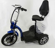 Folding Three Wheels Adult Electric Mobility Scooter Electric Trikes