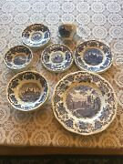 Royal Homes Of Britain-enoch Wedgewood China. 4 Place Dinner Set.