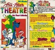 All Star Theatre Our Finest Collection Vhs Video Tape New Bluffer Foofur Seabert