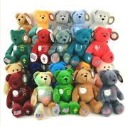 The Original Collectible Quarter Bears Embroidered Choose Your State Nwt