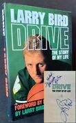 Larry Bird Bob Ryan / Drive The Story Of My Life Signed 1st Edition 1989