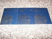 Whitman Albums Nickels, Dimes, Quarters Coin Folder Book 9039 9034 9038