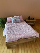 Handmade Quality Pet Bed - Small, Dog Bed, Cat Bed, Wood Bed, Doll Bed