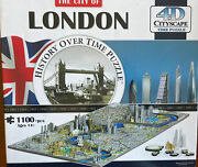 The City Of London History Over Time 4d Cityscape Time Puzzle 1100 + Pcs