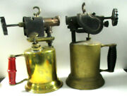 Antique Vintage Early 1900s Turner Brass Works Blow Torch Mancave Decoration