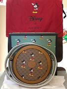 Disney Mickey Mouse Round Circle Shoulder Bag - New - Authentic