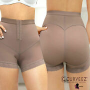 Fajas Post Surgical Butt Lift Panty Lipo Tummy Control Levanta Cola High Waisted