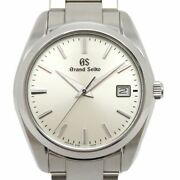 Grand Seiko 9f Quartz Sbgx263 Silver Dial Stainless Steel Menand039s Watch [b0412]
