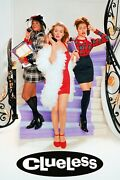 Clueless Paramount Media Kit W/20-page Prod. Notes 10x12 4-color Cast/credits