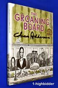 1964 Signed Drawing The Groaning Board Chas Addams Family 1st Ed Hcdj